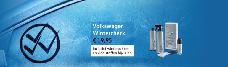 Volkswagen Wintercheck bij Cardon & Verwijlen