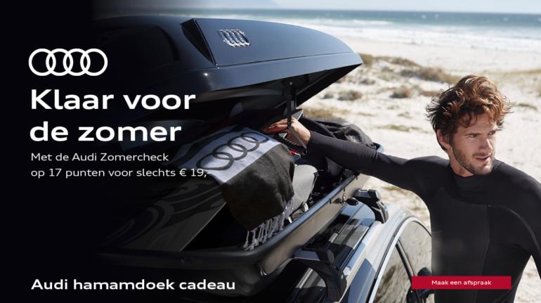 Uw Audi klaar voor de zomer.